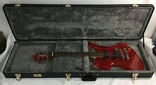 RARE!!! BC RICH ACRYLIC MOCKINGBIRD ELECTRIC GUITAR CLEAR CHERRY RED WITH CASE!