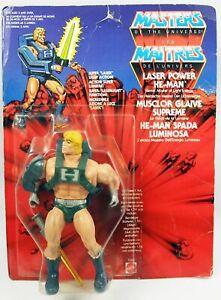 Masters of the Universe - Laser Power He-Man / Musclor Glaive Suprême (carte Eur