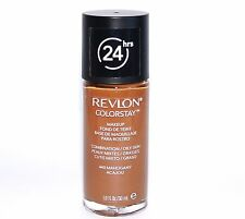 Revlon Colorstay 24Hr Make Up. Combination/Oily Skin. MAHOGANY 440