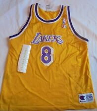 Kobe Bryant Los Angeles Lakers CHAMPION NBA Jersey Throwback Youth  XL (18-20)