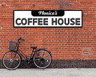Personalized Coffee House Metal Sign Bar Pub Cafe Wall Decor Large Plaque USA
