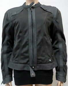 BMW Motorrad Motorcycle Riding Jacket Venting Anthracite Ladies Size 16 D-80788