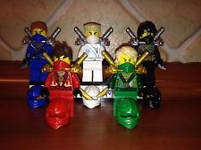 5x Lego® Ninjago™ Figuren Figur Ninja Lloyd Kai Jay Cole Zane Rebooted™ NEU