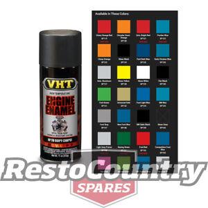 VHT High Temperature Spray Paint ENGINE ENAMEL SATIN BLACK starter diff