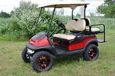 CUSTOM PAINTED CLUB CAR PRECEDENT GAS POWERED GOLF CART   Shipping Available