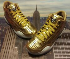 Nike Kobe X 10 Mid EXT Metallic Gold Men's Size 11.5 XI IX HTM 802366 700 Elite