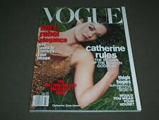2001 JULY VOGUE MAGAZINE - CATHERINE ZETA JONES - SP 4845
