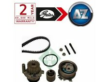 For Audi A4 2.0 TDI 140HP -09 Gates Powergrip Timing Cam Belt Kit And Water Pump