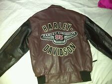 HARLEY DAVIDSON 1998 95TH ANNIVERSARY LEATHER JACKET MENS  LARGE  L@@K