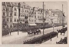 Kaiserin Alexandra-Praterstraße/Wien- Holzstich erschienen im Jahr 1896