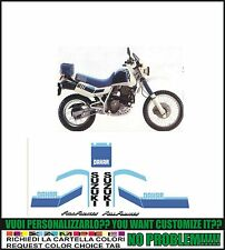 kit adesivi stickers compatibili dr 600 r 1986 dakar