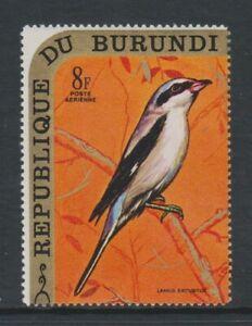 Burundi - 1970, 8f Great Grey Shrike, Bird stamp - MNH - SG 560