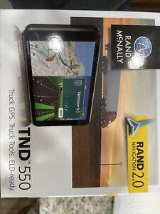 Rand McNally TND 550 Truck GPS