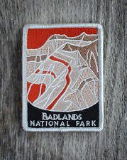 Badlands National Park Souvenir Patch Traveler Series South Dakota