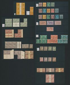 SYRIA FRENCH MANDATE STAMPS 1923-1924, SG #91/113 INC SURCH OMITTED & DUES, F/VF