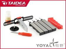 Taidea 4 Stone Diamond Knife Sharpening System Kit 360 / 480 / 600 / 800 Grits