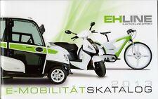 EH Line range (made in Austria) _2013 Prospekt / Brochure