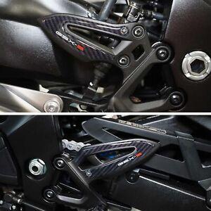 Adesivi 3D Protezioni Battitacco Compatibili Con Suzuki GSX-S 1000 2021