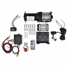 vidaXL 210231 12V Verricello Elettrico (Kit con Piastra, Rullo e Telecomando)