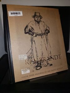 Rembrandt: Color Slide Program of the Great Masters HC McGraw Hill 1970