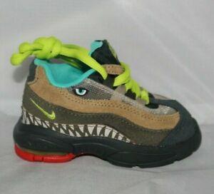 Nike Air Max 95 Monster Green Cyber Size 4C CI9945-300 Dinosaur Rare Toddler