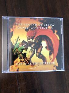 CLUB NINTENDO Legend Of Zelda Ocarina of Time 3D Official Soundtrack OST