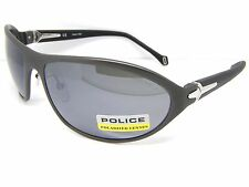 Police Stunning Cool Sunglasses S8771 627Z Polarized Lenses Accessory Grey