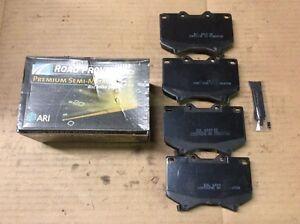 New ARI Roadproven 62-D812 Premium Semi Metalic Disc Brake Pad Pads