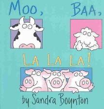 Moo, Baa, la la La!-ExLibrary