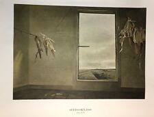 Andrew Wyeth Poster Seed Corn 1948 52+ yrs old American Heritage 1966 mail tube