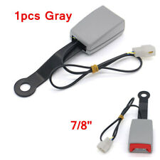 Car Safety Seat Belt Buckle Connector Extender Clip Warning Cable Universal Kit