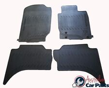 MITSUBISHI TRITON MN MQ Floor Mats Rubber Brand New Genuine 2010-2016 double cab
