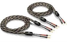 2 x 5,0m ViaBlue SC-2 single-wire Lautsprecherkabel crimped mit Aderendhülsen