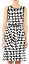 MAX MARA STUDIO  Black and White A-line Bonito Dress SZ 38/4