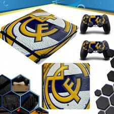 VINILO PLAYSTATION 4 PS4 SLIM REAL MADRID PEGATINA DE LA PIEL SKIN
