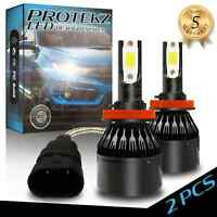 3-Sided Hi-Lo H4 HB2 9003 CREE LED Headlight Bulb 1320W 198000LM 6500K Power Kit