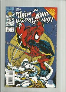 Marc Spector: Moon Knight #57 VF or better Platt Spider-Man! KEY!!