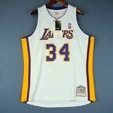 Authentic Shaquille O'Neal 03 04 Lakers Mitchell Ness Jersey Size 36 40 48 kobe