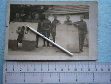 KINGDOM YUGOSLAVIA ARMY OFFICER ARTILLERY CANNON SCHIELD PHOTO PICTURE MILITARY