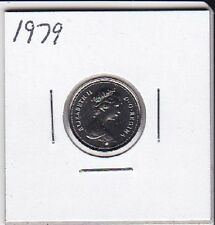 1979 Canada Nickel 10 Cent coin From Double Dollar Set
