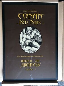CONAN RED NAILS ORIGINAL ART ARCHIVES HARDCOVER- SEALED-BARRY WINDSOR SMITH
