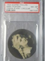 1924 GODFREY PHILLIPS MARY PICKFORD PSA NM-MT 8 CIRCULAR CINEMA STARS SILENT