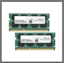 8GB Kit 2x 4GB DDR3 1600MHz PC3-12800 Sodimm Laptop RAM Memory MacBook Pro Apple