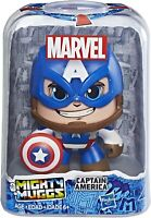 Marvel Mighty Muggs Captain America Hasbro action figure 3.75 inches display cas