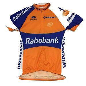 Voler Orange Cycling Jersey 90% Zip Women's Size Large