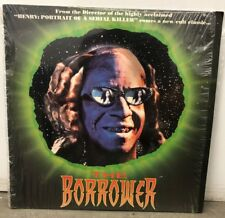 THE BORROWER LASERDISC John McNaughton Cult 90s Sci-Fi Horror 1991 LD Movie P&S
