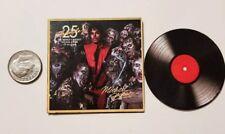Miniature record  Barbie Gi Joe 1/6    Playscale Michael Jackson Thriller 25