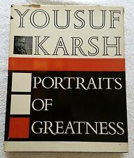 Portraits of Greatness Yousuf Karsh by Thomas Nelson & Sons LTD