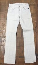 Citizens Of Humanity White Straight Leg Denim Pants Jeans Size 27