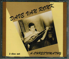 DAVE VAN RONK A Chrestomathy Vol 1 & 2 RARE OOP 2 CD SET!